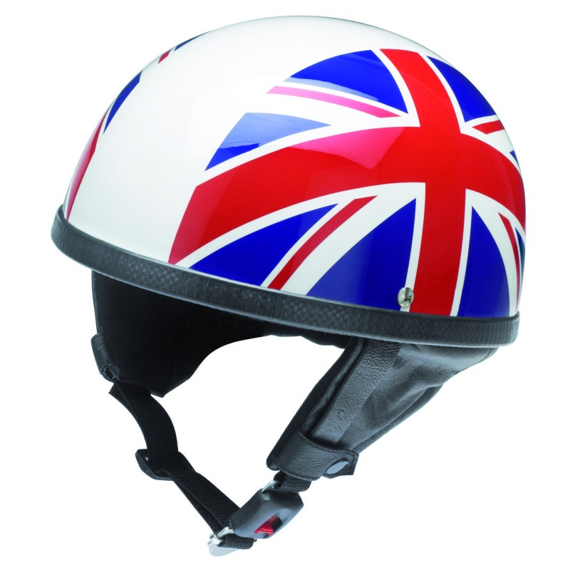chopper helm classic helm fiberglas union jack dekor. Black Bedroom Furniture Sets. Home Design Ideas