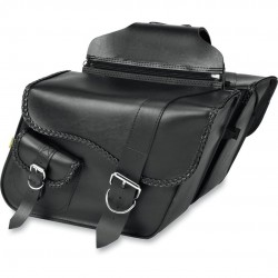 Willie & Max Braided Super Satteltaschen/Saddlebags - Black