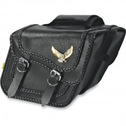 BLACK MAGIC Satteltasche Black - Standard
