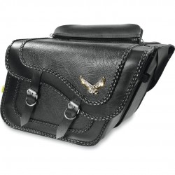BLACK MAGIC Satteltasche Black - Super